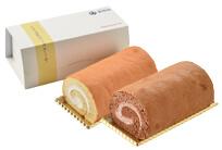 豆乳ロールケーキ2本セット(プレーン/ココア)